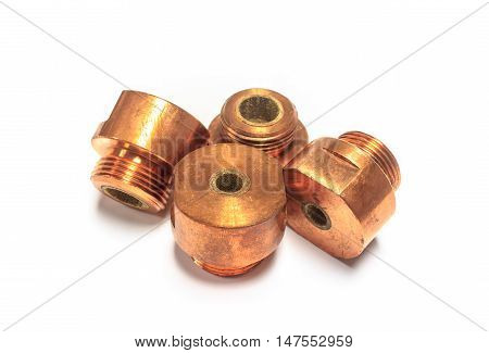 The spare part spot welding. for automotive industrial