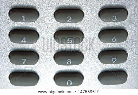 Digital Grey Keypad