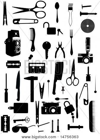 various home accessories