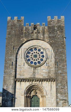 Facade Of Saint Nicholas Church In Portomarin