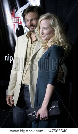Anne Heche at the FX Networks NIP/TUCK 3rd Season premiere held at the El Capitan Theatre in Hollywood, USA on September 10, 2005.