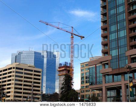 Changing Skyline In Bellevue Wa