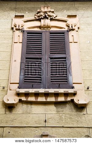 Window  Varese Palaces Italy Azzate     Abstract       Blind   Brick