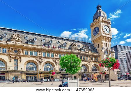 Paris, France - July 09, 2016 : City Views Of One Of The Most Beautiful Cities In The World - Paris.