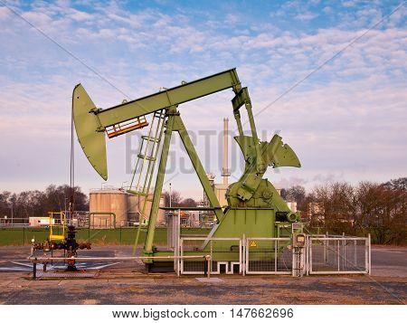 Working Oil Pump Jack