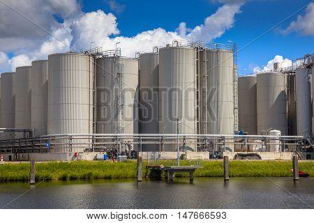 Storage Tanks Background