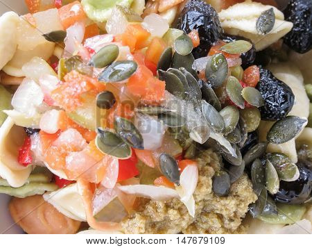 Mixed Salad In A Dish