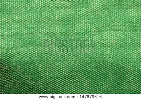 Green Plastic Background