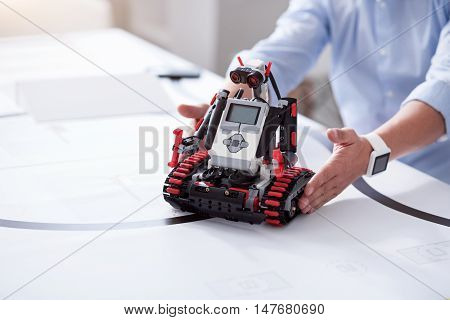 New era of science. Invention of robots that conduct measurements and research