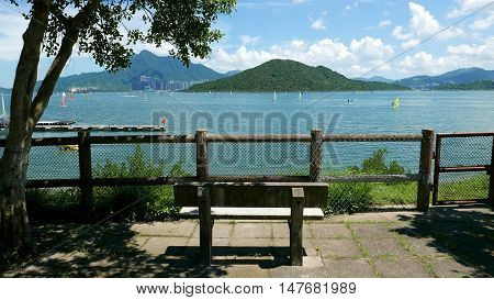 Outdoor Bench, Mountain, Watersport Wind Surfing