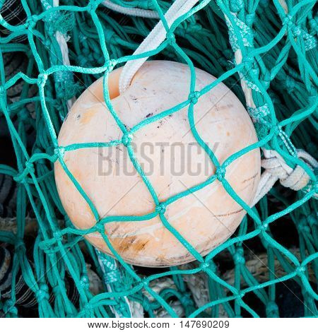 Pile Of Fishing Nets