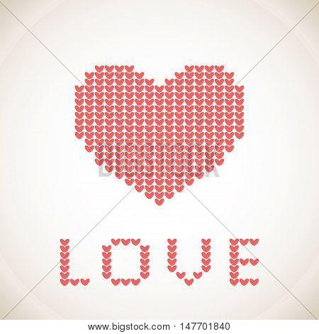 Knitting Love Vector Photo Free Trial Bigstock