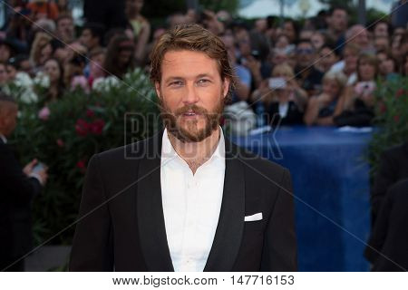 Luke Bracey  at the premiere of Hacksaw Ridge at the 2016 Venice Film Festival. September 4, 2016  Venice, Italy