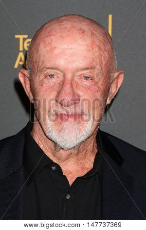 LOS ANGELES - SEP 16:  Jonathan Banks at the TV Academy Performer Nominee Reception at the Pacific Design Center on September 16, 2016 in West Hollywood, CA