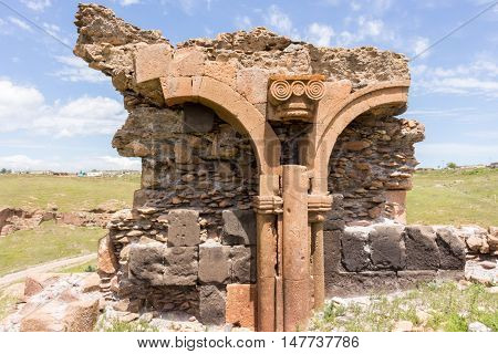 Historical Ani Ruins, Kars Turkey