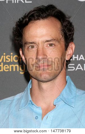 LOS ANGELES - SEP 16:  Nathan Darrow at the TV Academy Performer Nominee Reception at the Pacific Design Center on September 16, 2016 in West Hollywood, CA