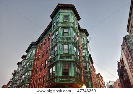 Copper Tripartite, Bay Window - Boston