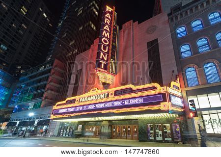 Paramount Theater - Boston, Massachusetts