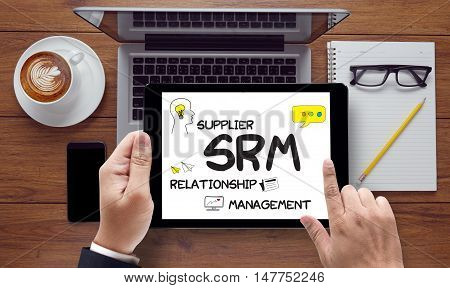 Man Work Srm Supplier Relationship Management  Assessment Enterprise Analysis