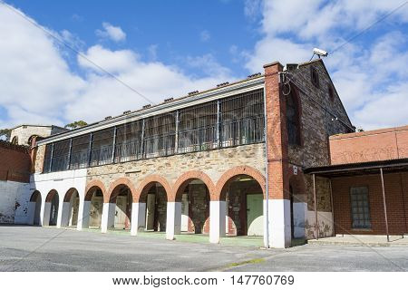 Condemed Cells, Four Yard, Adelaide Gaol, Adelaide, South Australia