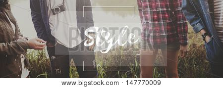 Style Character Chic Design Elegant Vogue Posh Concept