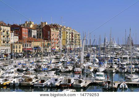 Port of Nice in France