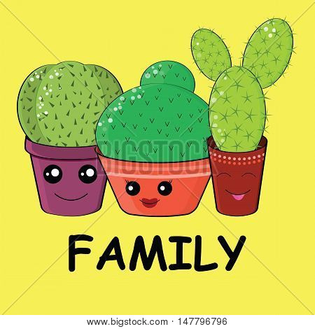 Hilarious Family Of Cacti
