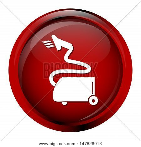 Vacuum cleaner icon cleaner sign vector illustration