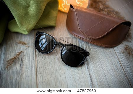 Sunglasses On The Floor