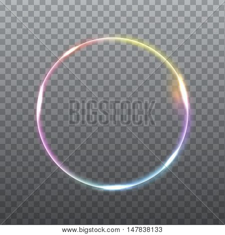 Abstract light effect on light grey background. Vector eps10 illustration