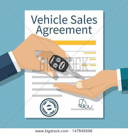 Car Sale Vector