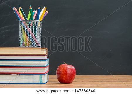 Remember To Bring Watercolor Pencil And Apple For Lunch When School Open