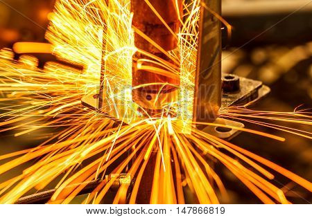 The Industrial welding automotive auto parts in thailand