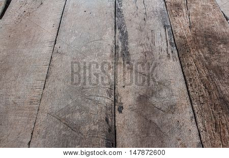 The Old Plank cracked floor texture and background.