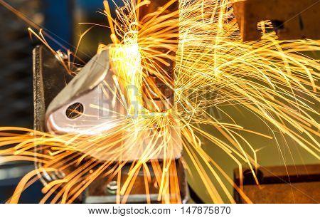 The Industrial spot nut automotive spot welding in thailand.