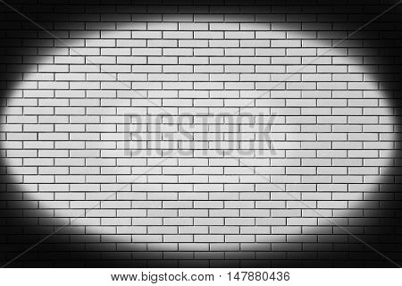 new brick wall in a background image