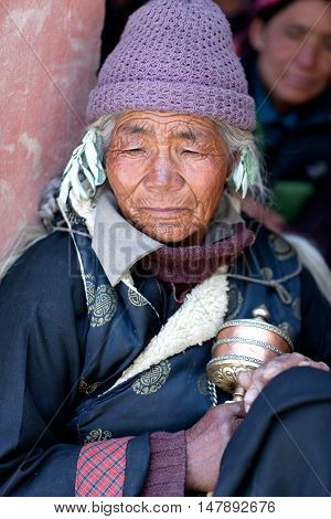 Ladakhi People In Jammu And Kashmir, India