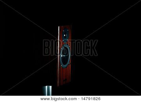 High End loudspeaker in spotlight