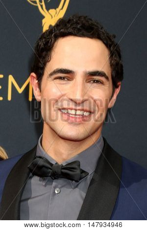 LOS ANGELES - SEP 18:  Zac Posen at the 2016 Primetime Emmy Awards - Arrivals at the Microsoft Theater on September 18, 2016 in Los Angeles, CA
