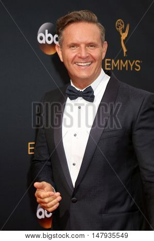 LOS ANGELES - SEP 18:  Mark Burnett at the 2016 Primetime Emmy Awards - Arrivals at the Microsoft Theater on September 18, 2016 in Los Angeles, CA