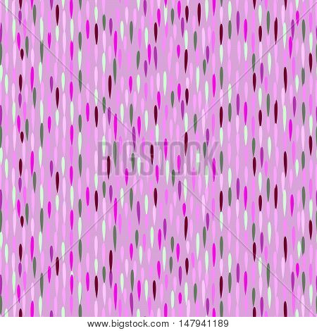 Raindrop pattern. Abstract wate rdrop background. Seamless pattern with falling dots