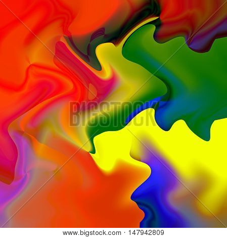 Abstract coloring background of the abstract gradient with visual wave effects