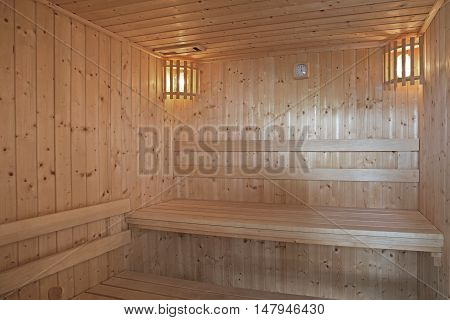 interior designs,  sauna room in luxury home