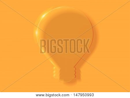 You can put your idea in translucent light bulb.