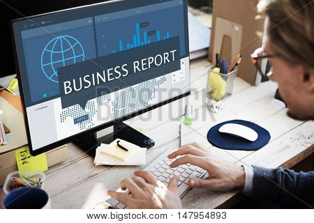 Economy Global Business Marketing Managment Concept