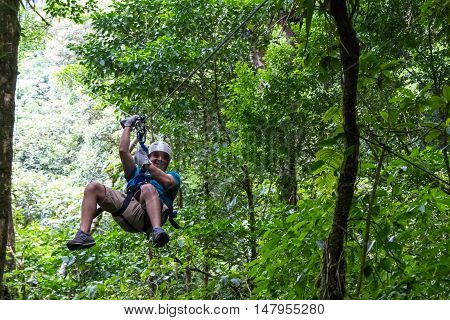 Zip Line Canopy Tours In Costa Rica