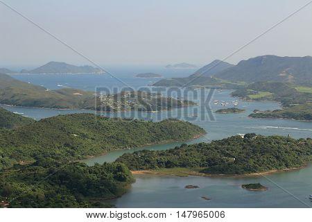 the Tai Tun view of sai kung hong kong