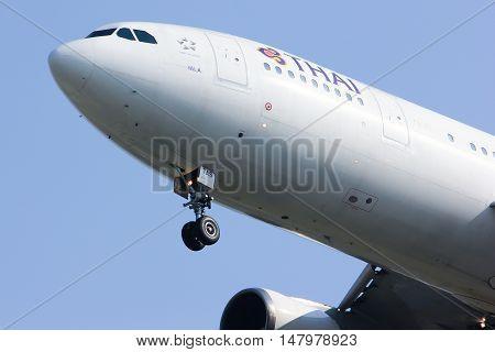 Hs-tas Airbus A300-600R Of Thaiairway
