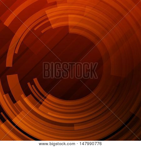 Abstract technological background Vector illustration art backdrop