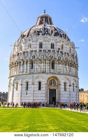 Hdr Pisa Baptistery
